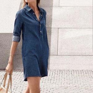 Michael Kors denim shirt dress chambray dress